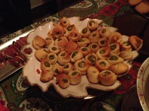 Parmesan Olive Bites