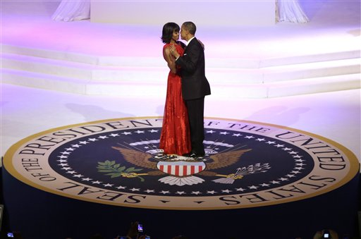 An inauguration is like a wedding, right?
