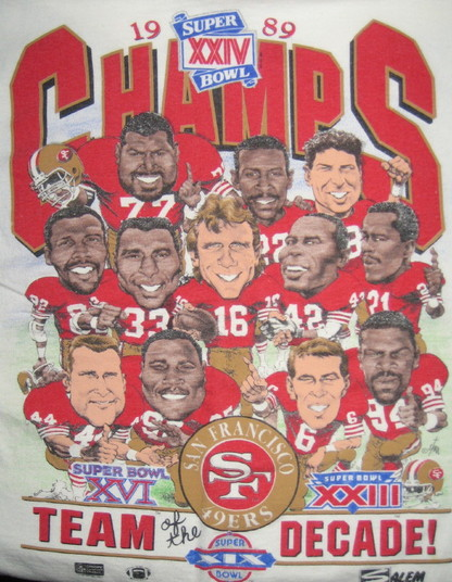 The 49ers of my youth; the 49ers in my mind.